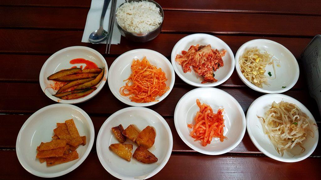 Koreanische Vorspeisen im Hodori