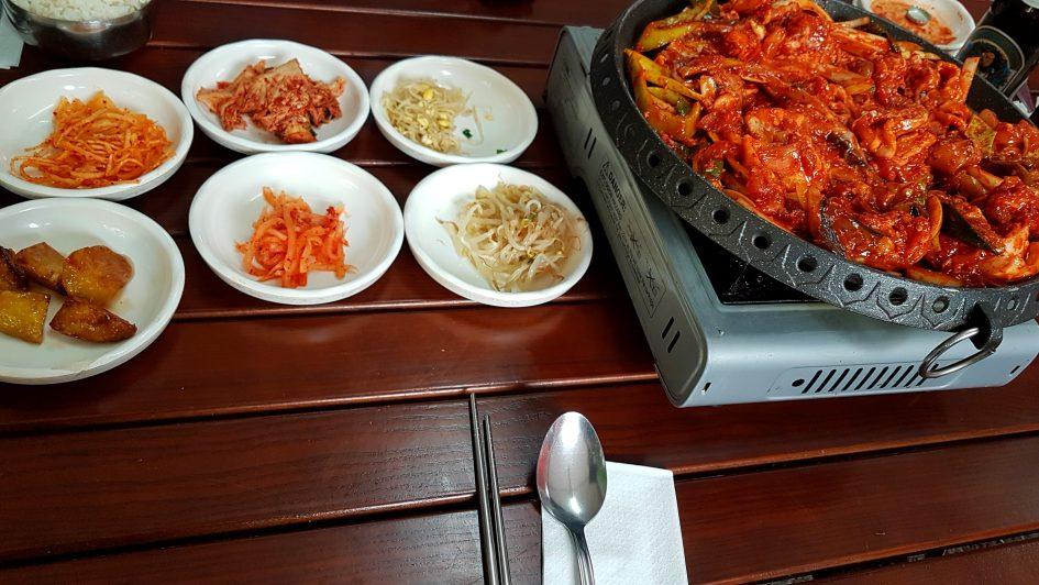 Koreanisches BBQ im Hodori in Schöneberg.