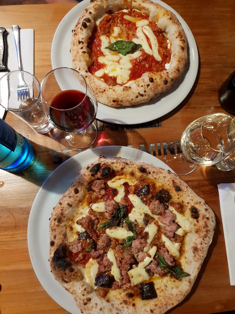Pizza im Malafemmena