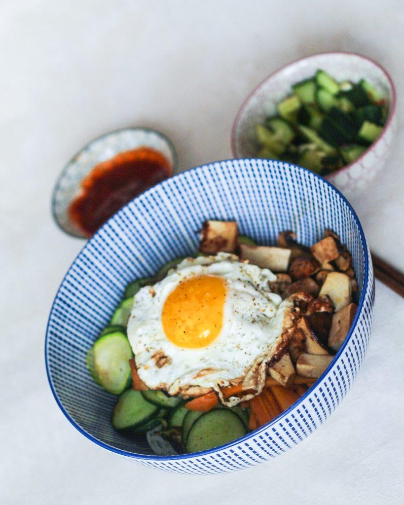 Bibimbap - Ein koreanisches Resteessen